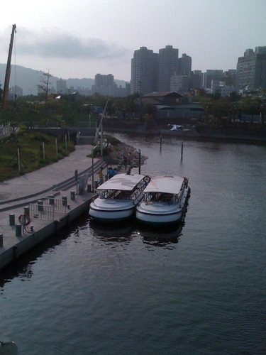 高雄公共腳踏車半日遊 - 02 愛河之心愛之船