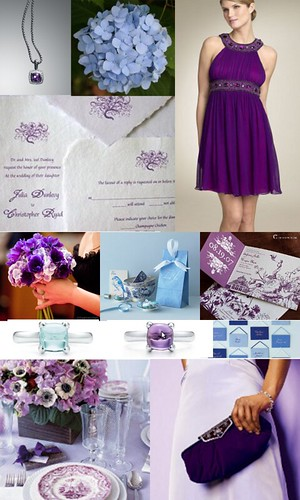 purple inspiration board