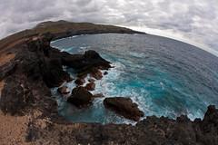 "Costa de Arucas (Jesus de Blas) Tags: sea naturaleza nature grancanaria azul clouds canon mar paisaje fisheye nubes fabulous 1001nights picturesque 15mm arucas photographyrocks aplusphoto ""solofotos"""