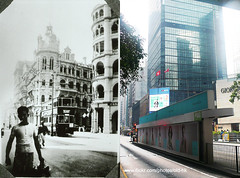 -  1930's (HK Man ()) Tags: old hk hongkong central  thenandnow oldhk   oldhongkong