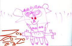 20081123-灰色機器人的朋友小pink