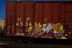 Zae on Union Pacific (All Seeing) Tags: up cozy unionpacific abel six mls uprr planttrees hitop zaes sixr