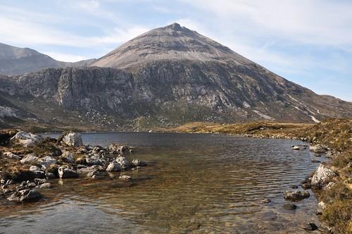 Arkle across Loch na Tuadh