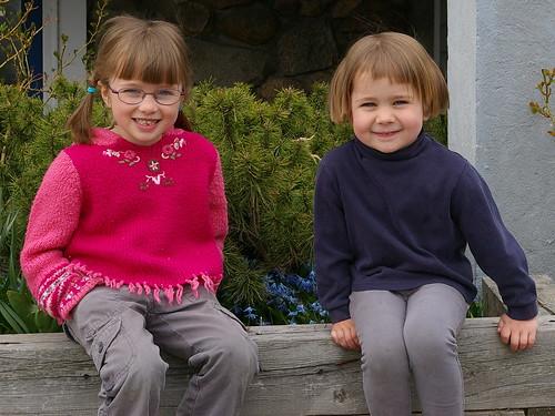 Anna (6) and Sofia (4)