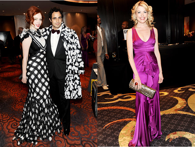 Zac Posen with Celebs Wearing his Dresses