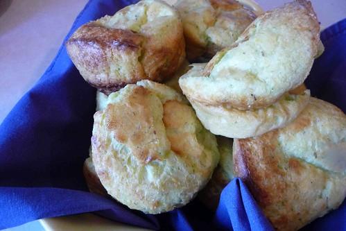 Parmesan-Herb Popovers