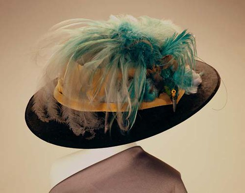 Hat with Bird of Paradise, ca. 1900 by Missouri History Museum.