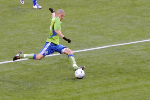 Sounders player
