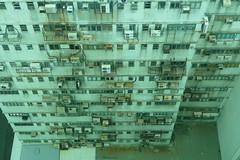 Hong Kong rooftops skyscape mong kok (dcmaster) Tags: china city skyscape hongkong high asia apartment rooftops air chinese style hong kong views foof  kowloon kok walled mong retrofitted conditiner