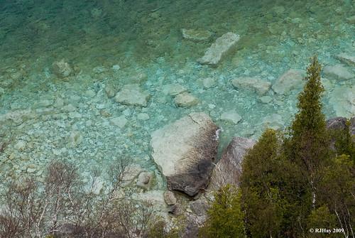 Georgian Bay waters sparkle