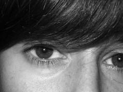 ..occhi e lentiggini.. (.. Nefele's World ..) Tags: portrait blackandwhite bw me blackwhite eyes bn io occhi biancoenero nefele