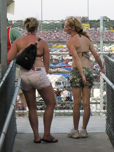 Two Women at Darlington Raceway