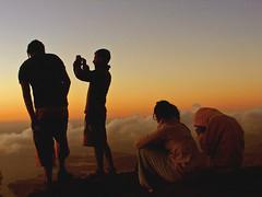 (ioannaa) Tags: naturaleza amigos sol grancanaria atardecer libertad mar nubes montaña teide naranja isla anochecer subir tranquilidad tamadaba mardenubes