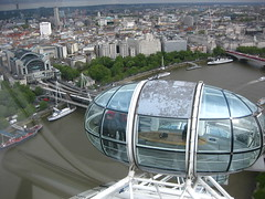 Charing Cross from London Eye