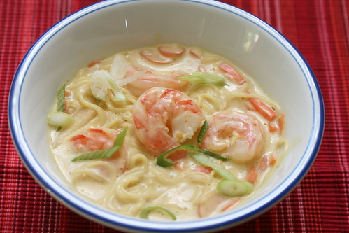 Food Librarian - Everyday Food Coconut Shrimp Soup