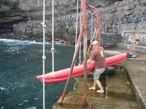 Quay launch SH