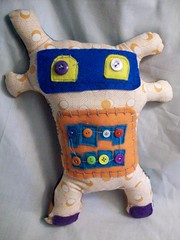 (LittleCritters00) Tags: fur fun soft little critter craft funky felt artdoll