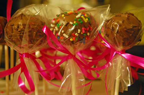 Final Cake Pops wrapped