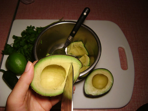 Dicing Avocados