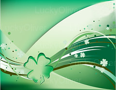Fluttering Shamrocks (zafarazad7123) Tags: original ireland wallpaper irish holiday green art leaves saint illustration emblem festive four design march leaf holidays day pattern unique decorative background traditional patrick luck lucky concept patricks clover legend celebrate shamrock vector repeating