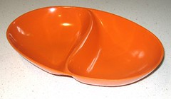Ornamin Dish (retrollectable) Tags: orange plastic ornamin