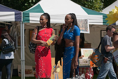 Africa Day 2009 - Two African Queens
