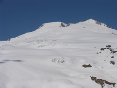 Upper Railroad Grade (on left) and Easton Glacier