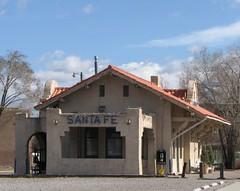 IMG_10474 (old.curmudgeon) Tags: newmexico santafe sign depot picnik atsf santafesouthern santafedepot sfsr 5050cy