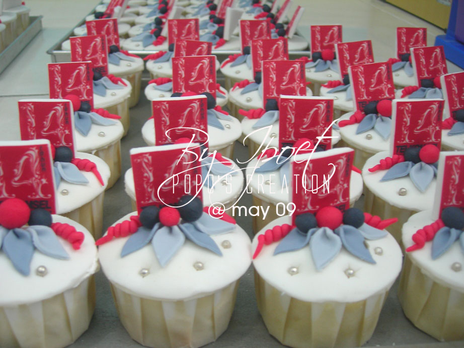 Cupcake for Telkomsel (Company) 14th birthday