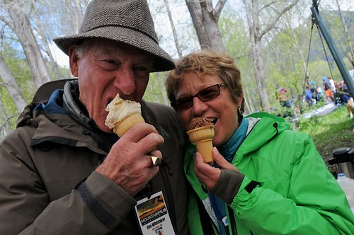 Jim Whittaker and Diane Roberts