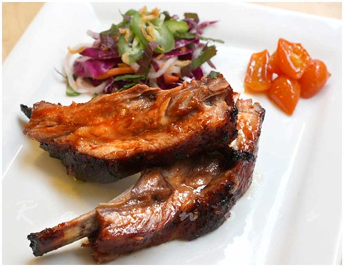 hoisin glazed ribs