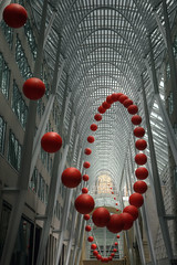 Long Wave (Timothy Neesam (GumshoePhotos)) Tags: red toronto ontario art ball long wave exhibit exhibition timothy neesam