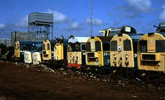 Class 20s MC Metals 10/8/92 (Stapleton Road) Tags: scotland scrap class45 mcmetals dieselsclass20