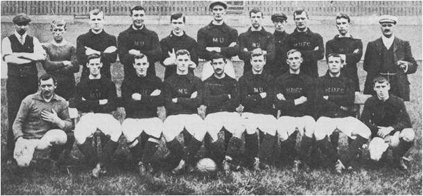 Manchester United 1906-07 team photo