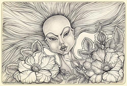 girl & roses-3