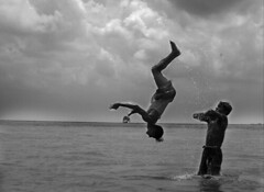 Playing with gravity (abudarda) Tags: bw nikond70s bangladesh d2photography arichaghat abudarda