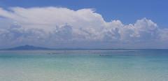 Snorkelers (Jeremiah Cunningham) Tags: ocean travel sunset sea mountains beach water sunrise thailand asia backpacking kosamui floatingmarket kotao kophiphi gulfofthailand kophiphileh railai kophanang andamaan aolang