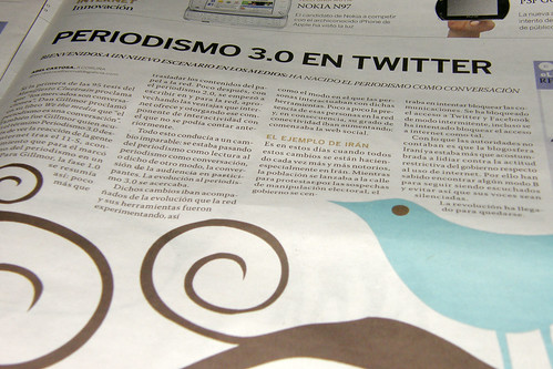 Periodismo 3.0 en twitter
