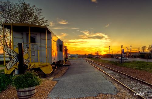 Cookeville Depot Sunset