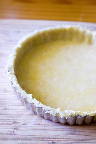 bakewell tart - crust