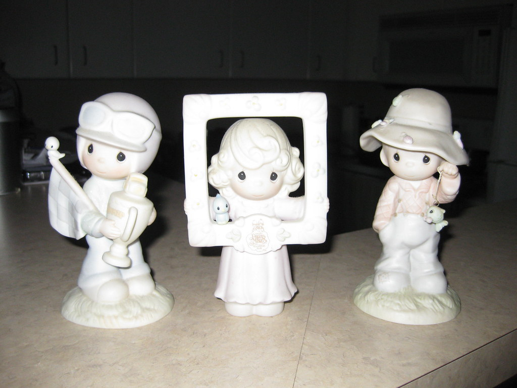 Decorate your Princess room with three Precious Moments figurines, $50 for set of 3