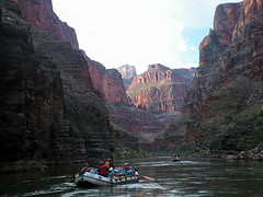 Beginning a new day rafting the Colorado River - Grand Canyon (Al_HikesAZ) Tags: park county trip light arizona water 1025fav river dawn nationalpark 500v20f searchthebest grandcanyon grand canyon rafting national transportation coloradoriver raft azra boatman daybreak rafters coconino inthecanyon boatmen  grandcanyonnationalpark descubrimiento riverguide coconinocounty gcnp awesomenature  alhikesaz irenbalsa   gc2009 belowtherim arizonaraftadventures elgrancandelcolorado arizonahighwaysphotooftheday