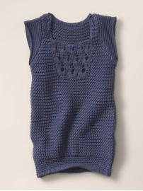 crotchet shift dress