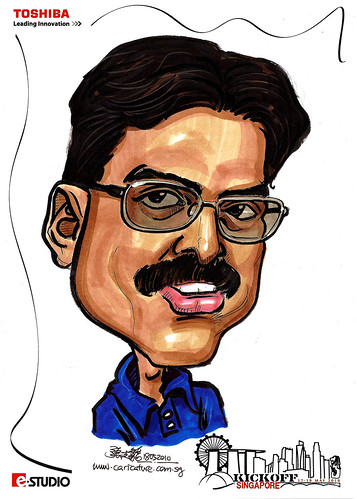 Caricature of K. Murali HCL