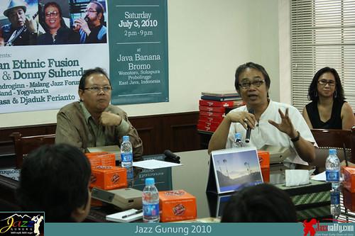 Jazz Gunung 2010 Press Conference (2)