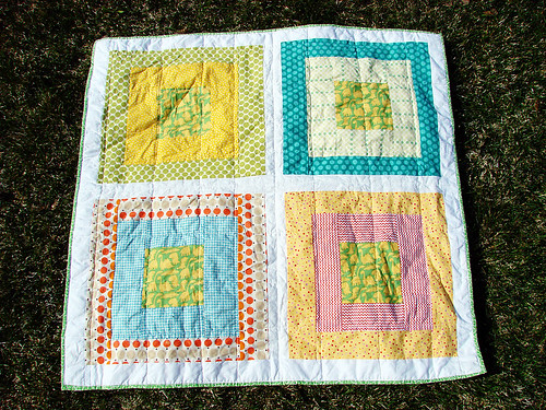 take-along quilt