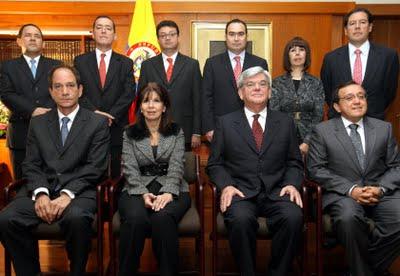 Magistrados corte constitucional colombia 2010