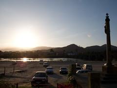 ponte de lima . inundationsgebiet (tlraum) Tags: auto portugal car parkplatz pontedelima tlraum rolandbarthofer t|raum inundationsgebiet überschwemmungsgebiet