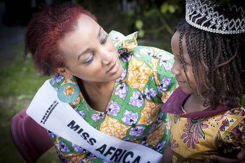 Miss Africa Ireland 2009 And Friend