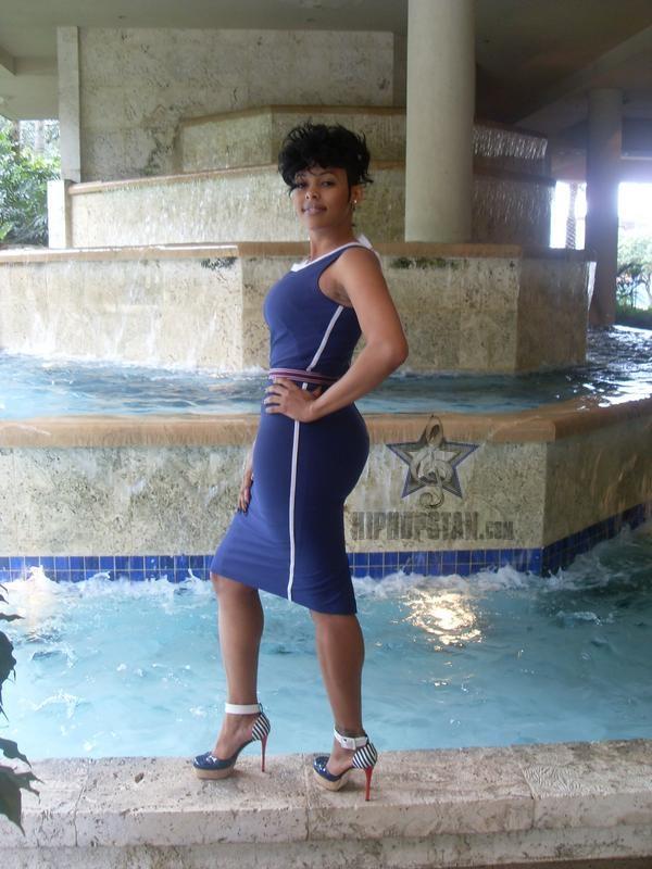 Keyshia Dior Super Stylish Thick Curvy Fashion Model